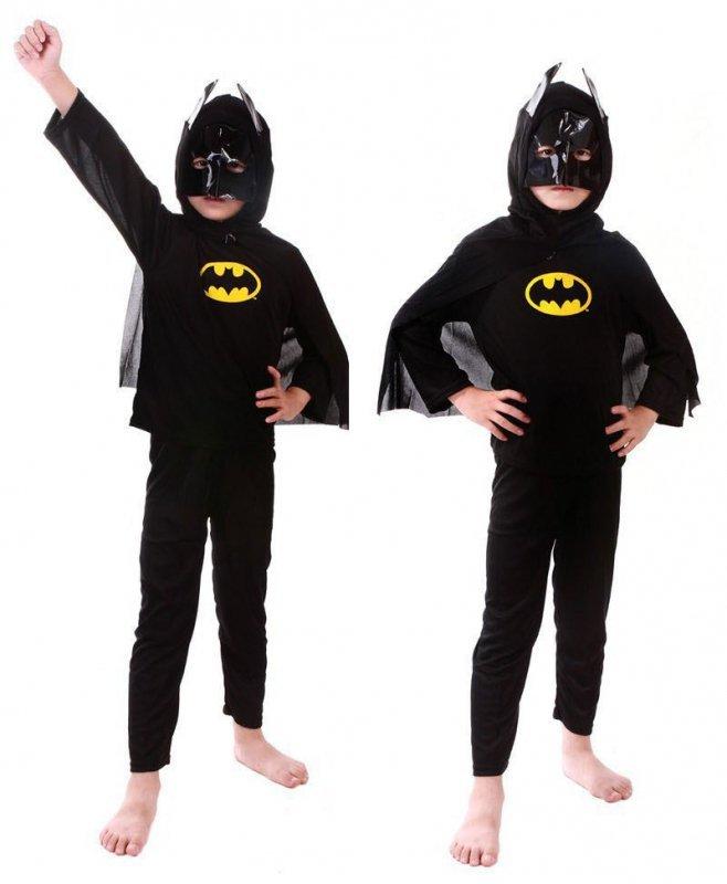 KOSTIUM BATMAN DLA 4 LATKA STRÓJ PRZEBRANIE