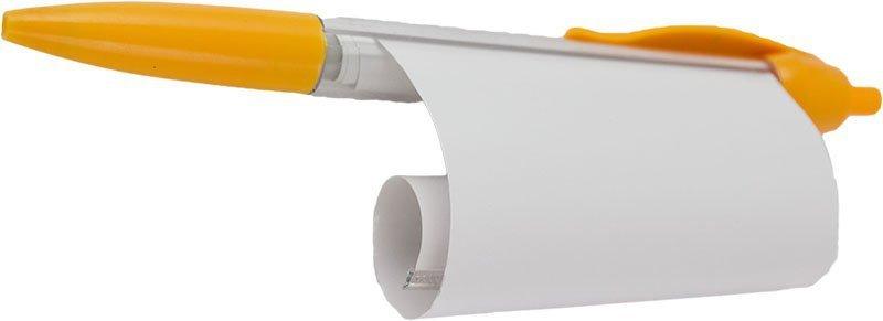 Długopis-ściąga-żółty