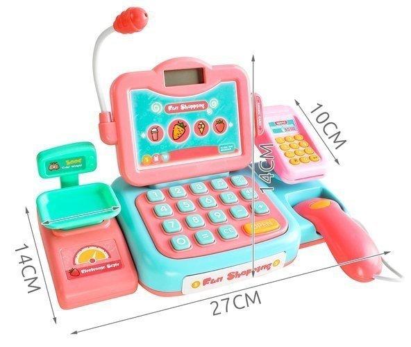 Kasa-fiskalna-dla-dzieci-akc-skaner-dzwięk-mikrofon-3