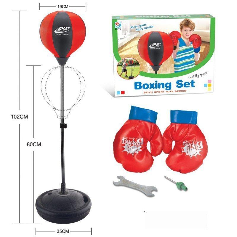 Zestaw-bokserski-dla-dzieci-regulowany-80-102cm-z-rękawicami-1