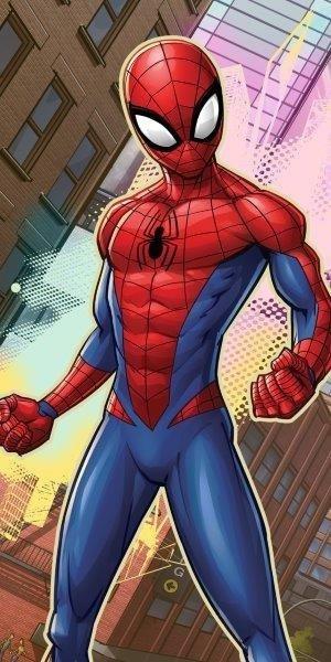 Ręcznik-plażowy-kąpielowy-Spiderman