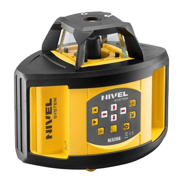 Nivel System NL520G znakomity dwuspadkowy niwelator laserowy z zieloną wiązką