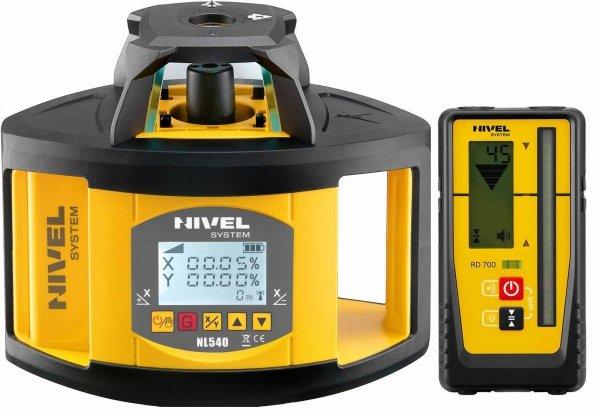 Nivel System NL540 Digital znakomity dwuspadkowy niwelator laserowy.