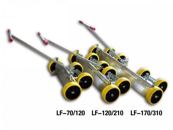 Listwa zgarniająca Probst Levelfix LF-125/215