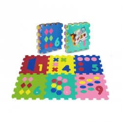 Puzzle piankowe cyfry 0-5