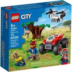 City quad ratowników dzikich z