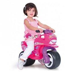 INJUSA Różowy Jeździk Pchacz Motorek Biegowy Thundra