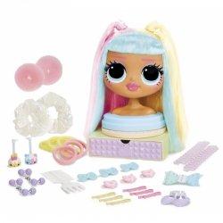 LOL SURPRISE - Głowa do stylizacji Lalka OMG Candylicious