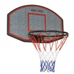Tablica do koszykówki 71x45cm Enero i obręcz 40cm
