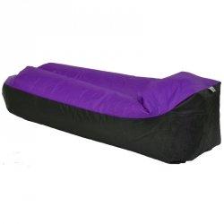 Lazy bag sofa dmuchana fioletowa Royokamp