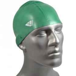 Czepek silikon senior classic zielony