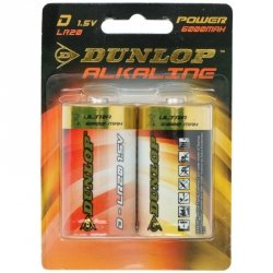 Bateria DUNLOP LR20/D 2szt