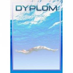 Dyplom Papierowy - Pływanie (25 Szt.)
