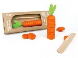 Drewniana gra zręcznościowa Posiekaj marchewkę 5l+ MILANIWOOD