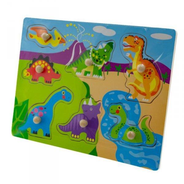 Zab puzzle 30x22 dinozaury