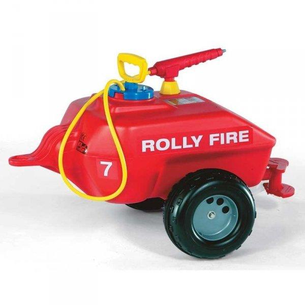 Rolly Toys rollyTrailer Przyczepa Cysterna do traktora Straż pożarna 5l