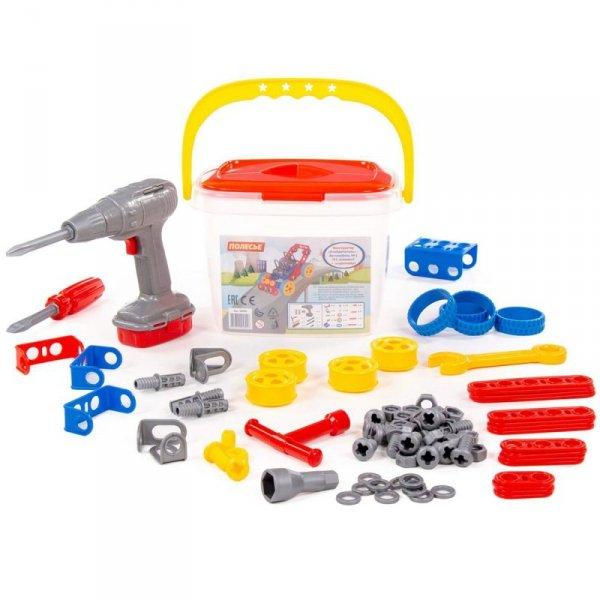 Zestaw narzędzi z akcesoriami Wynalazca 91 elementów