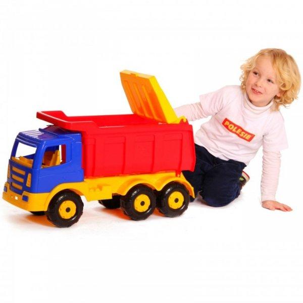 Wader QT Ogromna Ciężarówka 67 cm Samochód Wywrotka