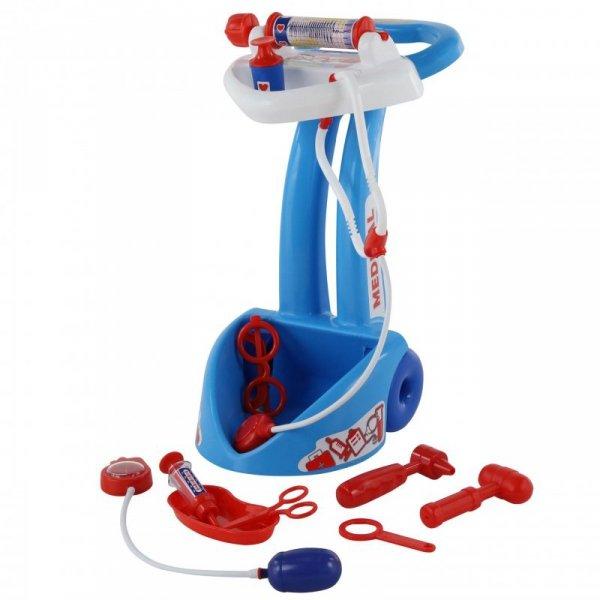 Medyczny Wózek Lekarza Doktora z Akcesoriami