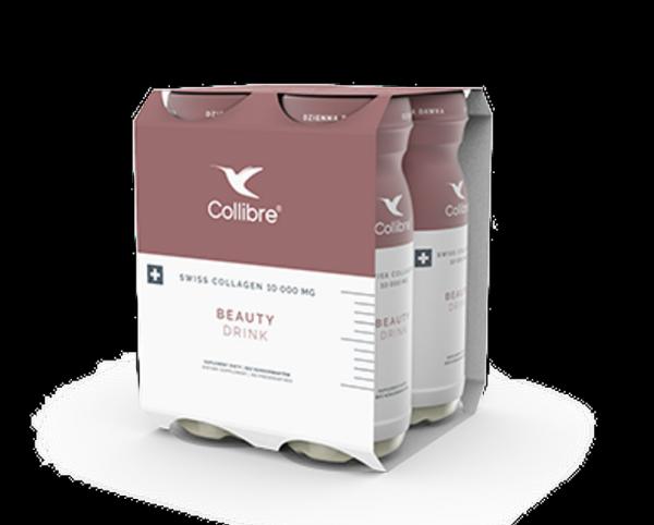 4x COLLIBRE Swiss Collagen Beauty drink 140 ml