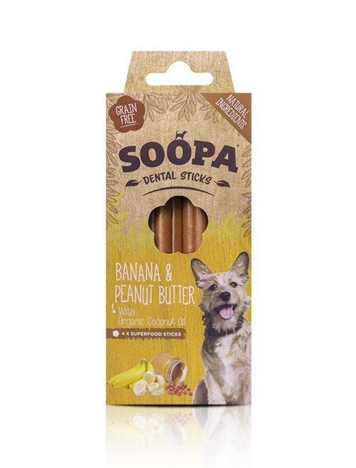 SOOPA Banan & Masło Orzechowe Sticks (100g)