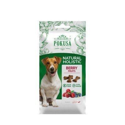 POKUSA Ciastka dla psa Berry Fruits 50g