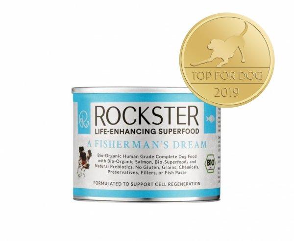 Rockster A fisherman's dream - BIO łosoś, kalmary i małże 195g