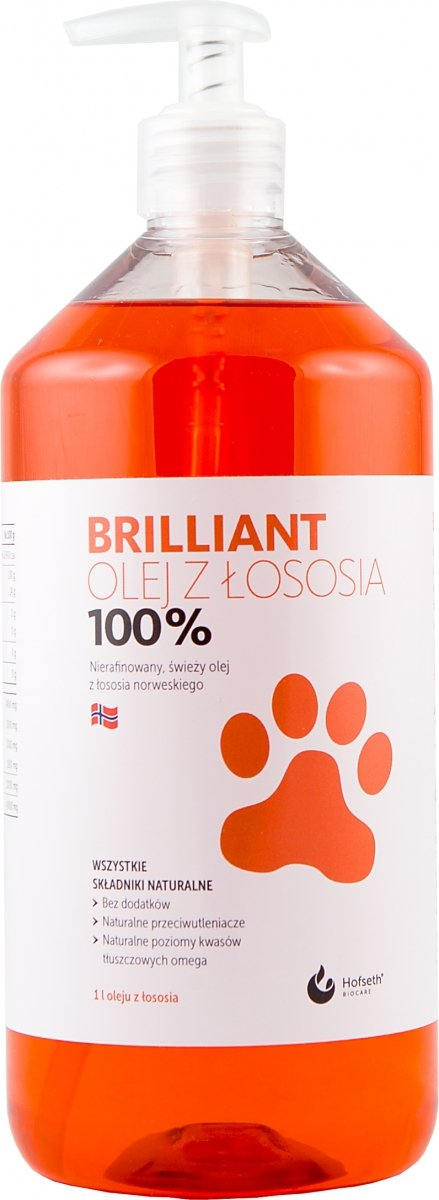 BRILLIANT olej z łososia 1000 ml