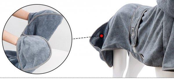 Ręcznik - szlafrok dla psa