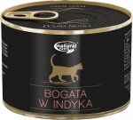 Natural Taste Cat 7509 Bogate w indyka 185g