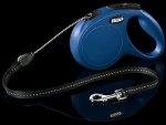 Flexi 2261 Classic M Cord 5m 20kg niebieska