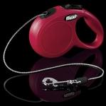 Flexi 2240 Classic XS Cord 3m 8kg czerwona