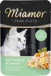 Miamor 74077 Filets Tuńczyk + Warzywa 100gr sasze
