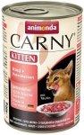 Animonda 83712 Carny Kitten Wołow Serca ind 400g