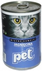 Pet Cat 410g Jagnięcina