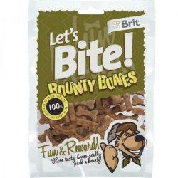 Brit Let's Bite N Dog Bounty Bones 150g