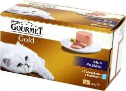 Gourmet Gold 4x85g Mus z Tuńczykiem