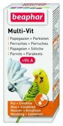 Beaphar 13684 Multivit Parrots 20ml