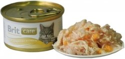 Brit 3018 Care Cat 80g Chicken Cheese puszka