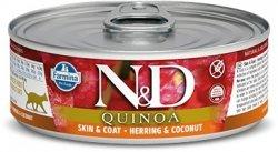 ND Cat 2154 Adult 80g Quinoa Skin&Coat Herring