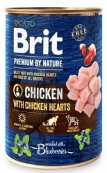 Brit Premium By Nature puszka 400g Pork&Trachea