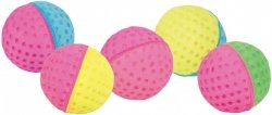 Trixie 41101 Piłka miękka kolorowa 4,3cm