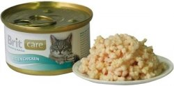 Brit 3032 Care Cat 80g Kitten Chicken puszka