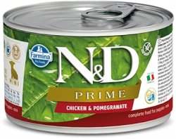 ND Dog 2260 Puppy Mini 140g Prime Chicken Pomegra