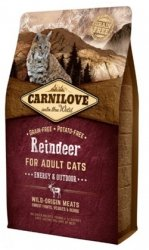 Carnilove Cat 2263 Reindeer Energy& Outdoor 400g