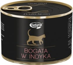 Natural Taste Cat 1530 Bogate w indyka 185g