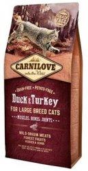 Carnilove Cat 2775 Large Breed Duck&Turkey 400g