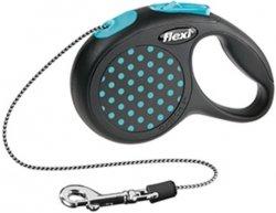 Flexi 2542 Design XS Cord 3m 8kg niebieska
