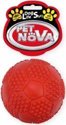 Pet Nova 2462 Piłka futbolowa 7cm czerwona