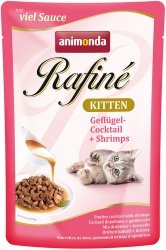Animonda 83786 Rafine Kitten Drób Krewetki 100g